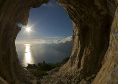 sentiero grotta